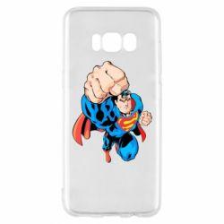 Чохол для Samsung S8 Супермен Комікс
