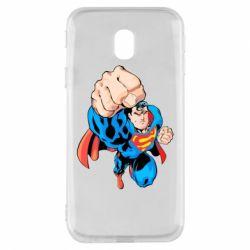 Чохол для Samsung J3 2017 Супермен Комікс