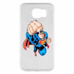 Чохол для Samsung S6 Супермен Комікс