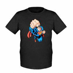 Детская футболка Супермен Комикс - FatLine