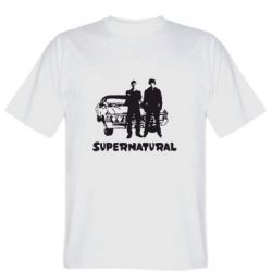 Мужская футболка Supernatural Братья Винчестеры - FatLine