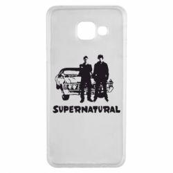 Чохол для Samsung A3 2016 Supernatural Брати Вінчестери
