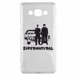 Чохол для Samsung A5 2015 Supernatural Брати Вінчестери