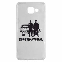 Чохол для Samsung A5 2016 Supernatural Брати Вінчестери