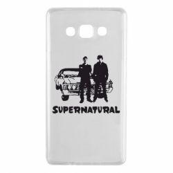 Чохол для Samsung A7 2015 Supernatural Брати Вінчестери
