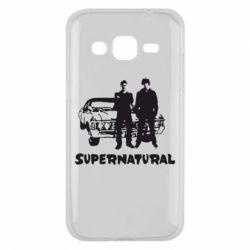 Чохол для Samsung J2 2015 Supernatural Брати Вінчестери