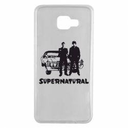 Чохол для Samsung A7 2016 Supernatural Брати Вінчестери