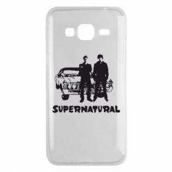 Чохол для Samsung J3 2016 Supernatural Брати Вінчестери