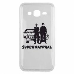 Чохол для Samsung J5 2015 Supernatural Брати Вінчестери