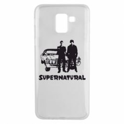 Чохол для Samsung J6 Supernatural Брати Вінчестери