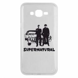 Чохол для Samsung J7 2015 Supernatural Брати Вінчестери