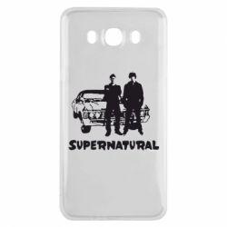 Чохол для Samsung J7 2016 Supernatural Брати Вінчестери