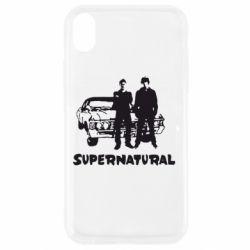 Чохол для iPhone XR Supernatural Брати Вінчестери