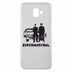 Чохол для Samsung J6 Plus 2018 Supernatural Брати Вінчестери