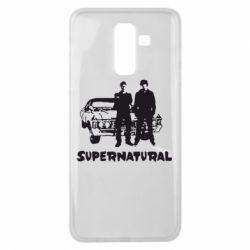 Чохол для Samsung J8 2018 Supernatural Брати Вінчестери