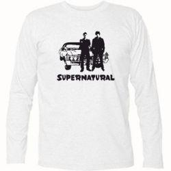 Футболка с длинным рукавом Supernatural Братья Винчестеры - FatLine