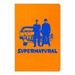 Блокнот А5 Supernatural Брати Вінчестери