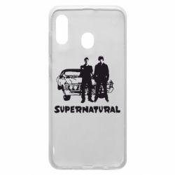 Чохол для Samsung A20 Supernatural Брати Вінчестери