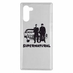 Чохол для Samsung Note 10 Supernatural Брати Вінчестери