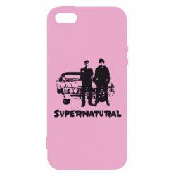 Чохол для iphone 5/5S/SE Supernatural Брати Вінчестери