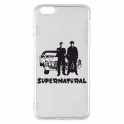 Чохол для iPhone 6 Plus/6S Plus Supernatural Брати Вінчестери