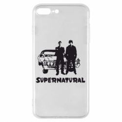 Чохол для iPhone 8 Plus Supernatural Брати Вінчестери