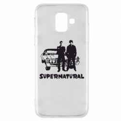 Чохол для Samsung A6 2018 Supernatural Брати Вінчестери