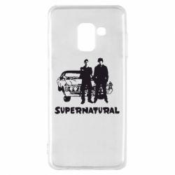 Чохол для Samsung A8 2018 Supernatural Брати Вінчестери