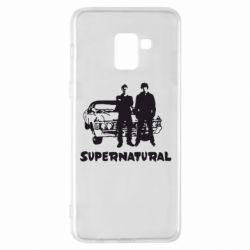 Чохол для Samsung A8+ 2018 Supernatural Брати Вінчестери