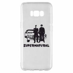 Чохол для Samsung S8+ Supernatural Брати Вінчестери