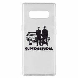 Чохол для Samsung Note 8 Supernatural Брати Вінчестери