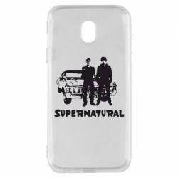 Чохол для Samsung J3 2017 Supernatural Брати Вінчестери