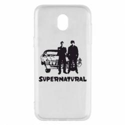 Чохол для Samsung J5 2017 Supernatural Брати Вінчестери