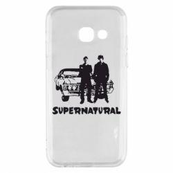Чохол для Samsung A3 2017 Supernatural Брати Вінчестери