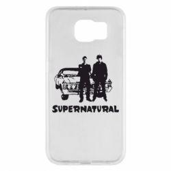 Чохол для Samsung S6 Supernatural Брати Вінчестери