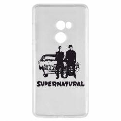 Чехол для Xiaomi Mi Mix 2 Supernatural Братья Винчестеры