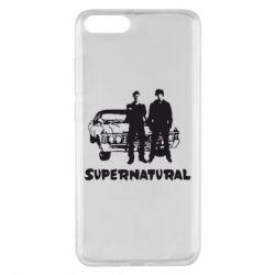 Чехол для Xiaomi Mi Note 3 Supernatural Братья Винчестеры