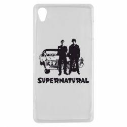 Купить Чехол для Sony Xperia Z3 Supernatural Братья Винчестеры, FatLine