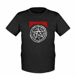 Детская футболка Supernatural круг - FatLine