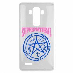 Чехол для LG G4 Supernatural круг - FatLine