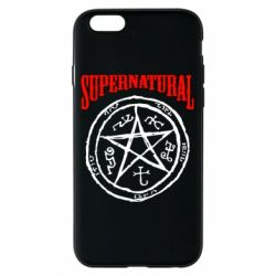 Чехол для iPhone 6/6S Supernatural круг - FatLine