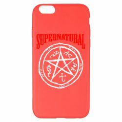 Чехол для iPhone 6 Plus/6S Plus Supernatural круг - FatLine