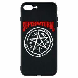 Чехол для iPhone 7 Plus Supernatural круг - FatLine