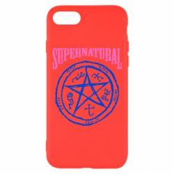 Чехол для iPhone 8 Supernatural круг - FatLine