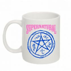 Кружка 320ml Supernatural круг - FatLine