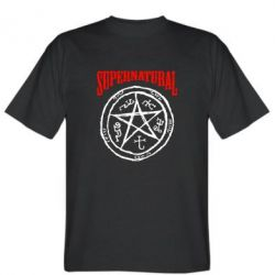 Мужская футболка Supernatural круг - FatLine