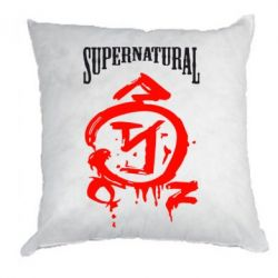 Подушка Supernatural Logo - FatLine
