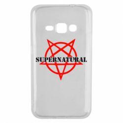 Чехол для Samsung J1 2016 Supernatural
