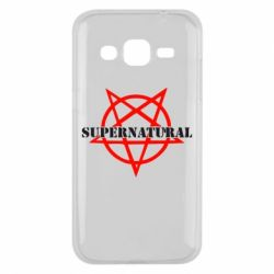 Чехол для Samsung J2 2015 Supernatural
