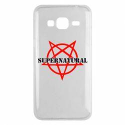 Чехол для Samsung J3 2016 Supernatural